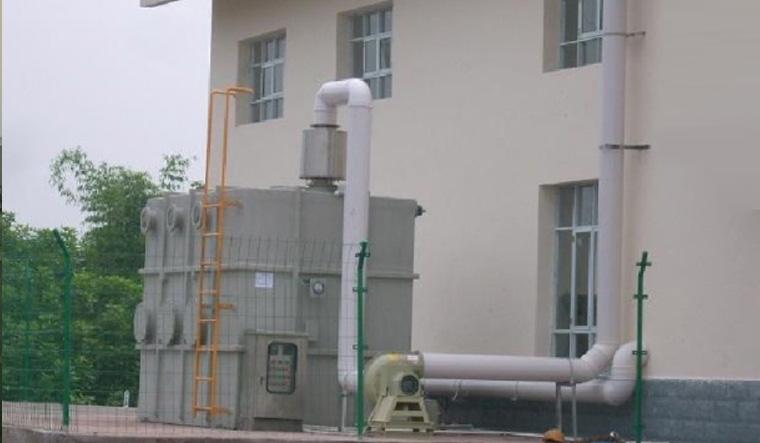化学原料行业废气净化项目案例